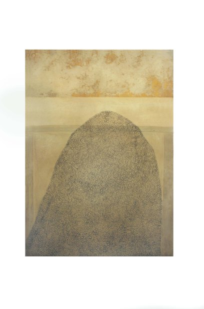 14 untitled.2004.      75x100 cm                     mixed media