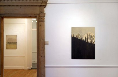 6 exhibition space               cross gallery 2004