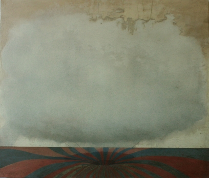 Anchored 2, 60 x 70 cm, oil and graphite on canvas, 2012