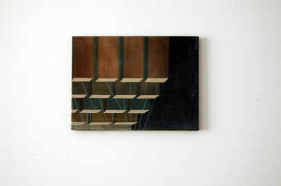 Untitled, oil on canvas, 30 x 40 cm, 2009.