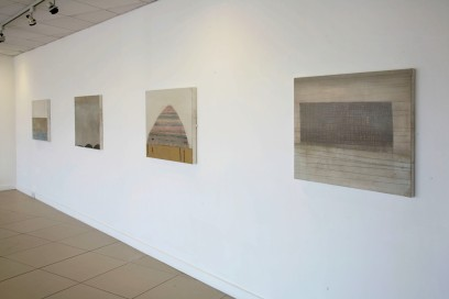 Installation view, solo show at Draiocht Arts Centre, 2007.