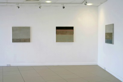 Installation view, solo show at Draoicht Arts Centre, 2007.
