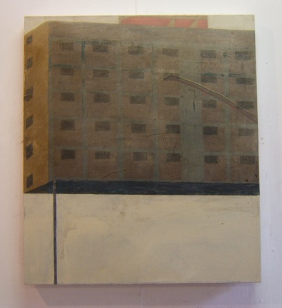 High rise, 70 x 80 cm, oil on canvas 2008