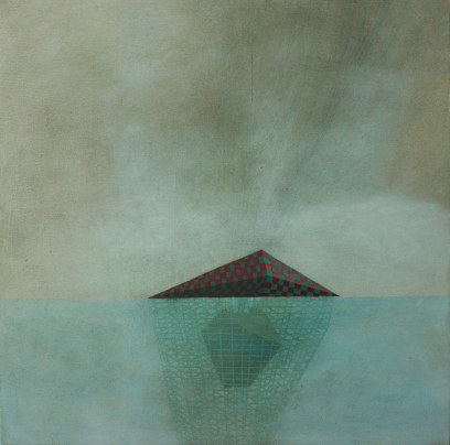 Island 2, oil on canvas, 40 x 50 cm, 2012.