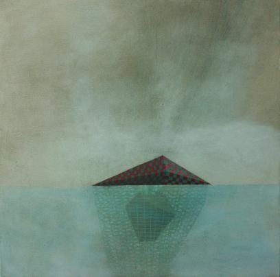 Island 2, oil on canvas, 40 x 50 cm, 2012.