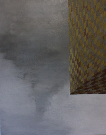 Untitled 2, oil on canvas, 45 x 60cm. 2009