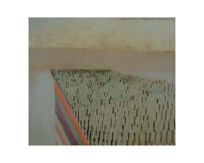High rise, 75 x 80 cm, oil on canvas, 2007.