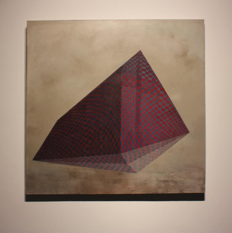 Urban Mountain 2, 102 x 104 cm, 2011 . Gillian lawler