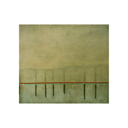 Untitled, 70 x 80 cm, oil on board, 2006.