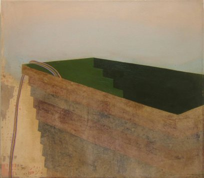 Construction, 70 x 80 cm, oil on canvas 2007