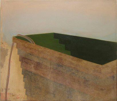 Construction, 70 x 80 cm, oil on canvas 2007