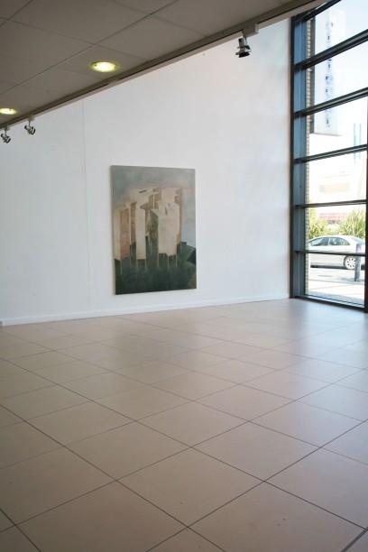 City on Stilts, Installation view, Draiocht Arts centre, 2007.