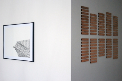 Installation shot, Limerick City Gallery of Art, Difference Engine, 2013.