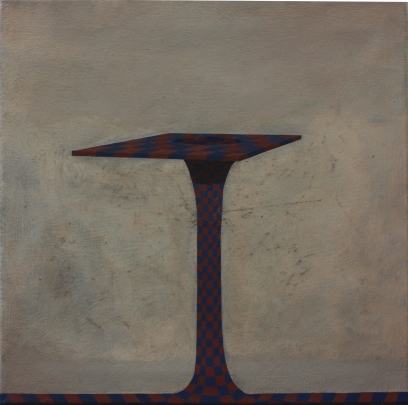 Platform, oil on canvas, 40 x 40 cm, 2014