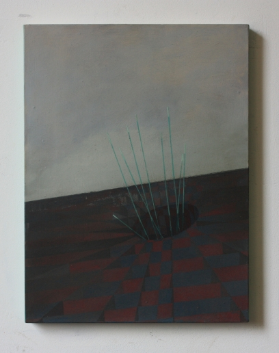 Sinkhole, 30 x 40 cm, oil on canvas, 2013