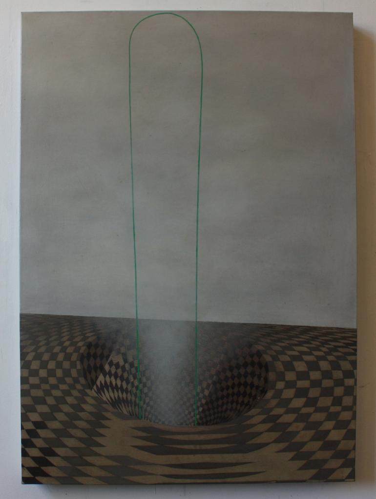 Sinkhole, 70 x 50 cm, oil on canvas, 2014