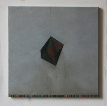 Suspension, 40 x 40 cm, oil on canvas, 2014
