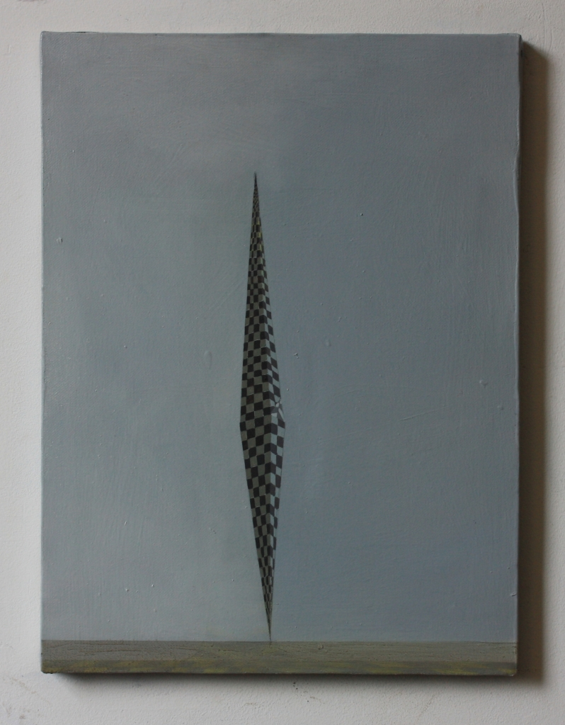 Tower, 30 x 40 cm, oil on canvas, 2014